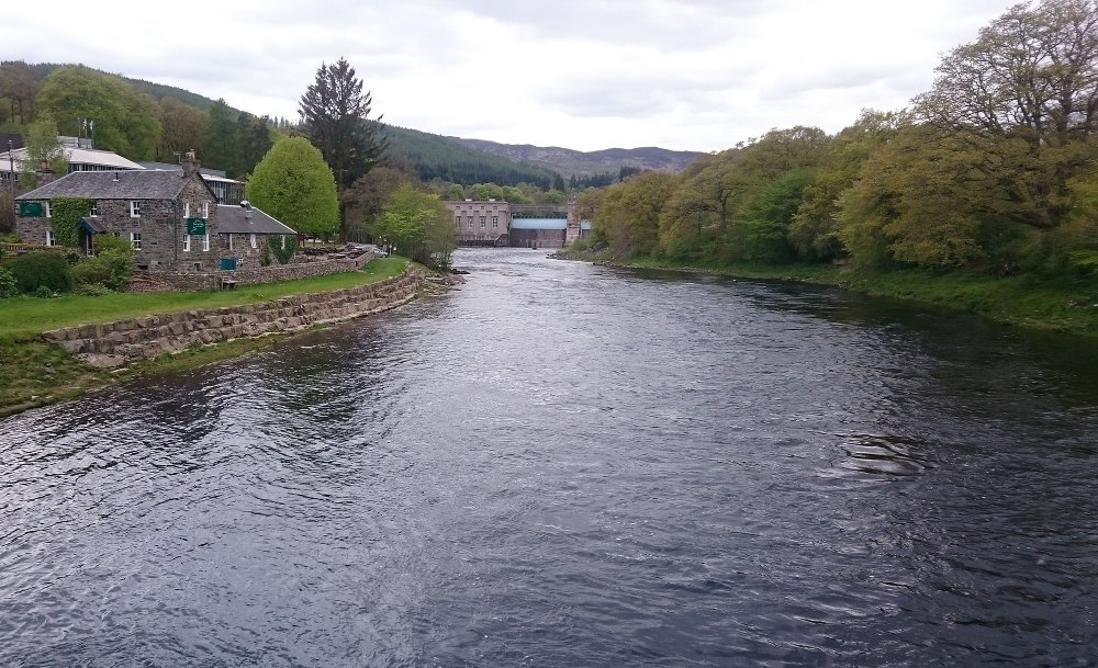 The River Tummel at Pitlochry