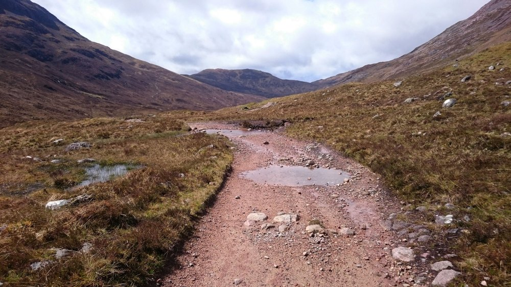 The old military road to Fort William - fabulous riding through some stunning scenery