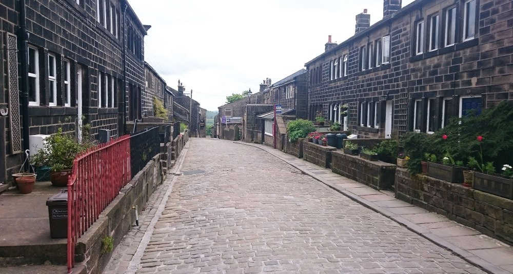 Heptonstall on the cobbles