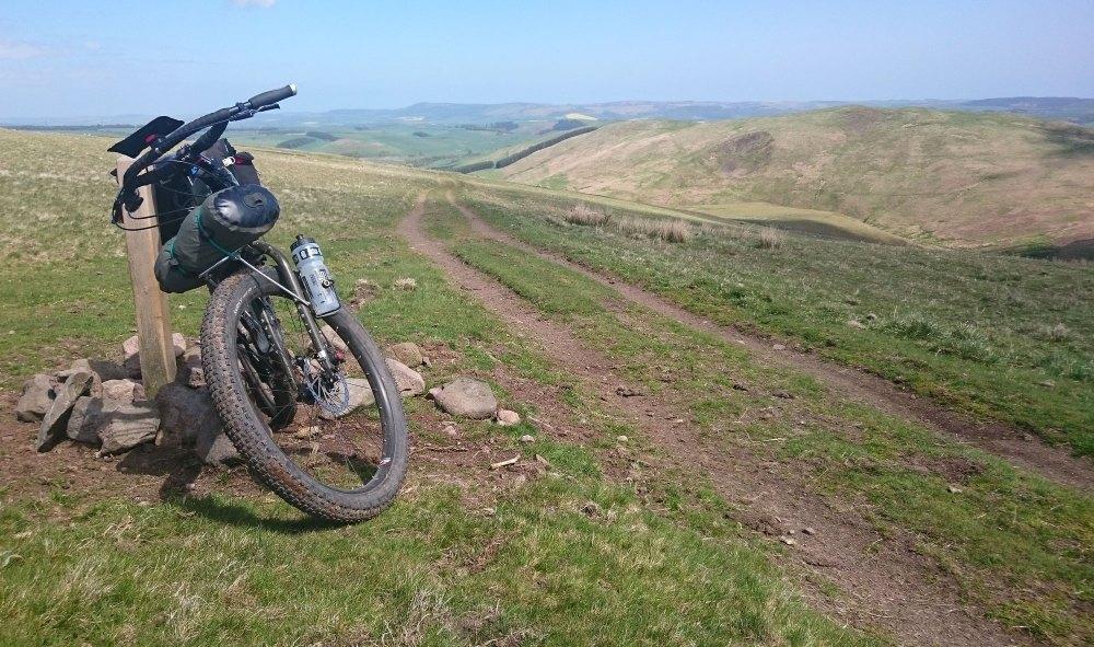 ECR on the Sandstone Way bikepack