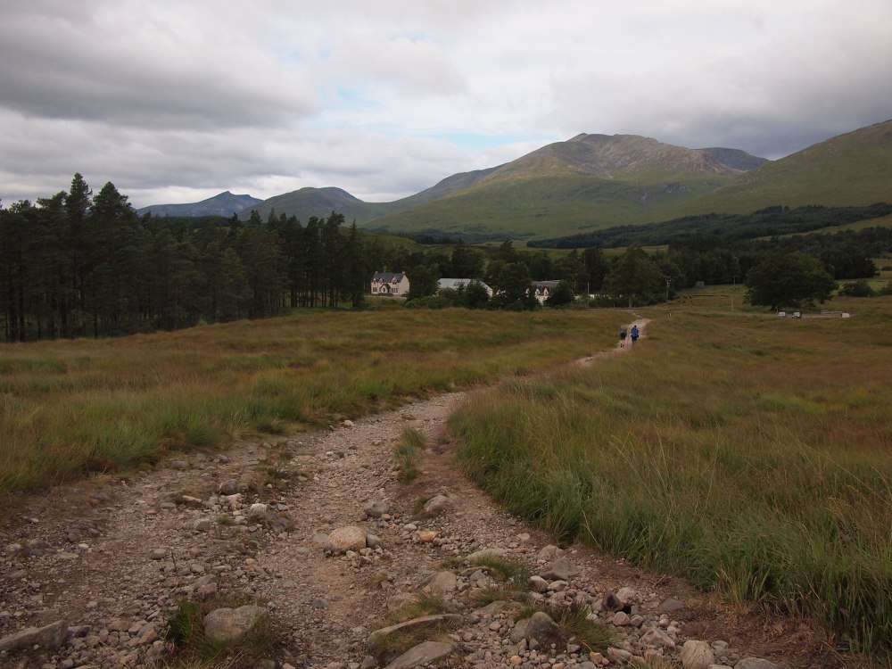 Following the Way down to the Inveroran Hotel