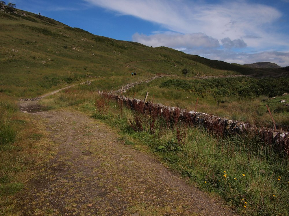The West Highland Way in Glen Falloch