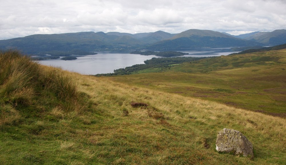 Views over Loch Lomond from Connich Hill