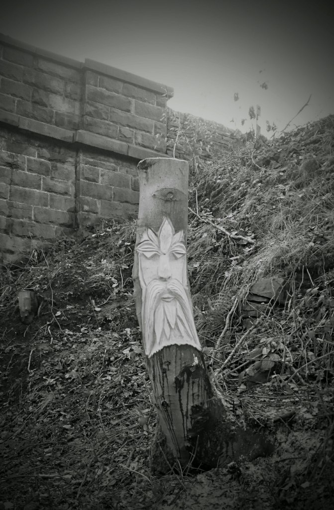 Sculpture on the Trans pennine Trail